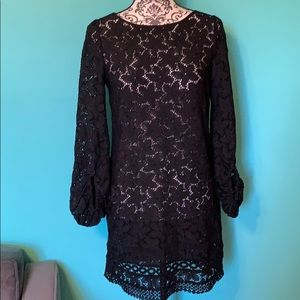 Laundry by Shelli Segal Lace Floral Swim Cover Up